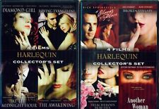 HARLEQUIN COLLECTION Volumes 1-2-3: Sexy Romantic Dramas - 12 Films - NEW 6 DVD