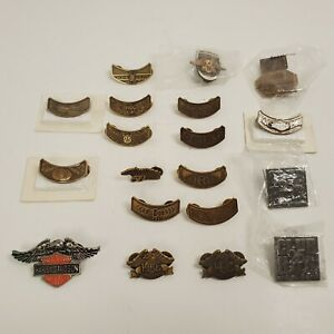 Lot of 19 Harley Davidson HOG Owners Pins Misc Sturgis Open House 25th 50th