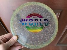 Discraft Z Sparkle Zone 2019 World Championships 174g Field Tested No Ink