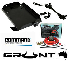 GRUNT 4X4 DUAL TWIN BATTERY TRAY KIT NISSAN GU PATROL RD28TEI 2.8 L TURBO DIESEL