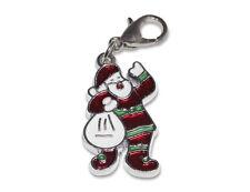 Enez Anhänger Dangle Charms Charm Weihnachtsmann (2,3 x 1,3cm) r1921
