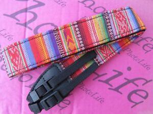 DSLR Camera Neck Shoulder Strap Vintage For Canon EOS 760D 750D 700D 650D 1200D