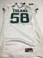 Game Worn Used Nike Tulane Green Wave Football Jersey #56 Size XXL