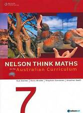 Nelson Think Maths for the Australian Curriculum Year 7 by Sue Garner, Stephen Swift, Stephen Corcoran, Ross Brodie (Mixed media product, 2011)