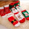 Kids Christmas Warm Slipper Socks Children's Novelty Xmas Stocking Filler Gift