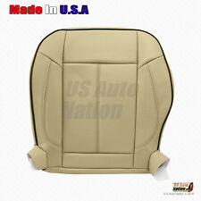 2006 to 2010 Hummer H3 Driver Bottom Replacement Leather Seat Cover Cashmere Tan