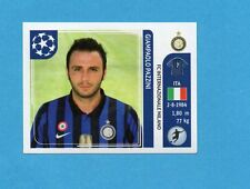 PANINI-CHAMPIONS 2011-2012-Figurina n.88- PAZZINI - INTER -NEW BLACK