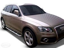 2 Marche-Pieds Latéraux MARCHE PIEDS ALUMINIUM  Audi Q5  2008 - 2012