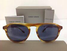 Giorgio Armani occhiale da sole  mod 8096 marrone lente celeste blu antiriflesso