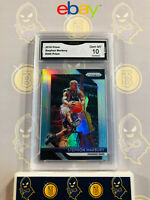 2018-19 Panini Prizm Stephon Marbury #265 Silver Refractor 10 GEM MT GMA Graded