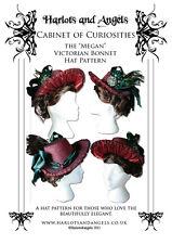 "Buckram ""Megan"" Victorian Bonnet Millinery Sewing Pattern (MBHP)"