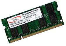 2gb ddr2 667 MHz RAM Netbook Asus Eee PC 1001pgo marcas memoria csx/Hynix