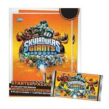 SKYLANDERS GIANTS TOPPS TRADING CARDS STARTER PACK w/LIMITED EDIT MASTER EON