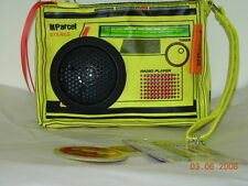 Loop Parcel Audio Couture Walkman Clutch Yellow ~ New