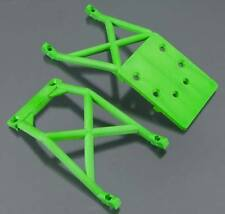 Traxxas Stampede / Monster Jam Green Front / Rear Skid Plates 3623A