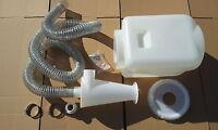 ETSTZY100-25L  Zyklon Staubabsaugung Abscheider für Staubsauger mit 25l Behälter
