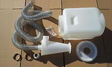 Etstzy 100-25l Ciclone Aspirazione polvere separatore per aspirapolvere con contenitore 25l