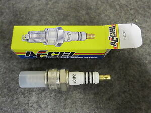 2 Accel 2410P Cyclelite Platinum Spark Plugs for Harley 84-99 Evo Big Twin