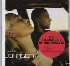 (D217) Johnson, It Could Be - 1998 DJ CD
