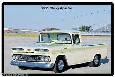 1961 Chevy Apache Truck Refrigerator / Tool Box  Magnet