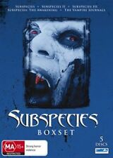 Subspecies Boxset (DVD, 2010, 5-Disc Set)