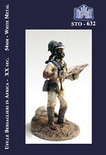 LA FORTEZZA SCALE MODEL STO-0632 - UFF.LE BERSAGLIERE IN AFRICA - 54mm METAL