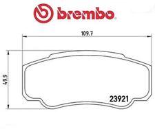 P23093 Kit pastiglie freno, Freno a disco (MARCA-BREMBO)