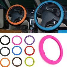 "14""- 16"" Soft Silicone Car Steering Wheel Cover Skidproof Odorless for Citroen"