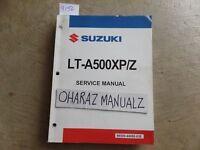 2009 SUZUKI LT-A500XP/Z Service Manual OEM