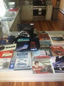 Lot of Saab Memorabilia