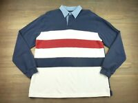 Vintage Roundtree and Yorke Mens Size Large Multi Color Striped Shirt