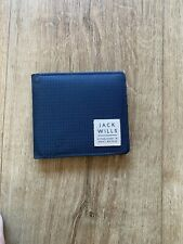 Jack Wills New Navy Bi Fold Wallet