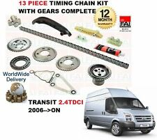FOR FORD TRANSIT 2.4 TDCi VAN BUS 2006 > TIMING CHAIN KIT WITH GEARS COMPLETE