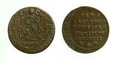 pcc1650_14) Pio VII (1800-1823) Roma Quattrino 1802 anno II