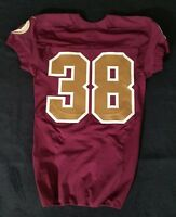 #38 No Name of Washington Redskins NFL Locker Room Game Issued Alternate Jersey