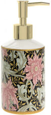 William Morris Rosa Dispensador de Jabón Bomba de Líquido Clematis cerámica de baño