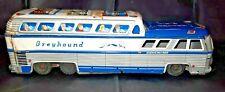 11� Vintage Rare Tin Greyhound Scenicruiser Bus Friction