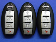 LOT OF 3 NISSAN KEYLESS ENTRY SMART KEY REMOTE FOB OEM KR5S180144106 WITH GATE