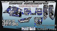 Yamaha Raptor 250/350/660/700 Banshee calcomanías gráficos
