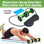 Home Gym Abs Equipment Exercise Body Fitness Abdominal Training Workout Machine