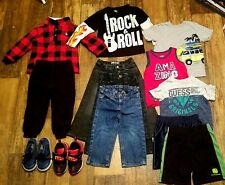 Toddler Boy Clothes and shoes 2T-3T Lot 13 Pieces.