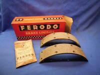 Ferodo TR / 32 / 1 Front Brake Linings Triumph TR6 T120 T100  66-68 NOS  NP4037