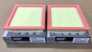 Infiniti Dual Intake Maintenance Advantage Air Filters EX35 G35 G37 Q60 New OEM