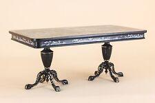 "Dollhouse Miniature ""KINGSTON"" DINING TABLE HAND PAINTED 3492-BBS BESPAQ DIRECT"