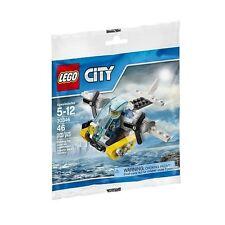 LEGO City Polizei Gefängnisinsel Hubschrauber 30346 NEU: Promotional Set Polybag