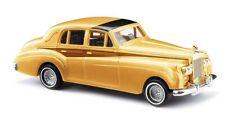 """Busch 44403 - 1/87 Rolls Royce Silver Cloud """"Deluxe"""" - Gold - Neu"""