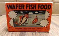 Vintage Hartz Mountain Wafer Fish Food Box