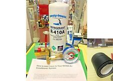 R410a, 410, Do-It-Yourself Recharge Kit, Color-Coded Gauge, Easy Instructions