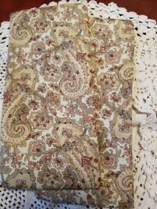 Country French Floral paisley UNSCENTED eye pillow CAN HELP STIFF NECK TOO