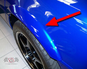 1984-1996 C4 Grand Sport Corvette Rear Fender Flares, Top Quality, Free Shipping